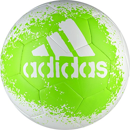adidas Soccer Ball | adidas Performance X Glider II - White/Solar Green/Black (Size 4)