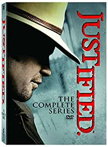 Justified: The Complete Series Season 1-6 (DVDS, 2015) New BOX SET