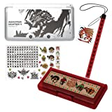 Monster Hunter 4 Accessory Set for Nintendo 3DS LL ReD
