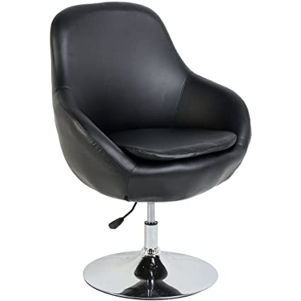 Prime Austin Swivel Tub Chair In Black Pu Leather Finish Amazon Squirreltailoven Fun Painted Chair Ideas Images Squirreltailovenorg