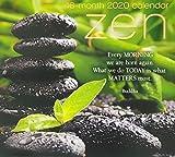 Zen 2020 Premium 16-Month Wall Calendar, Printed on Linen Embossed Heavyweight Paper