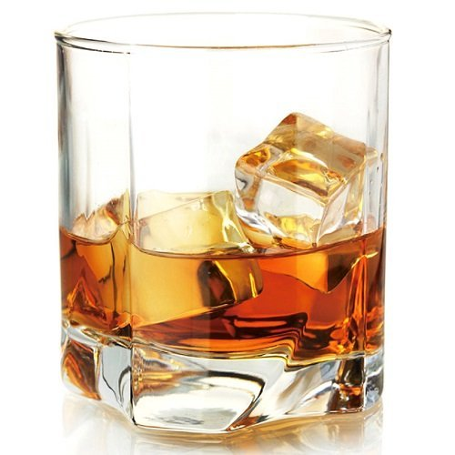 Pasabahce Whisky Glass, 368 ml, Set of 6