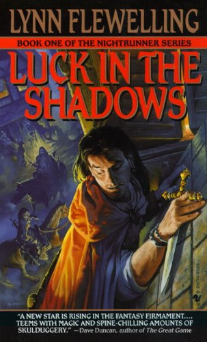 book cover of Luck in the Shadows