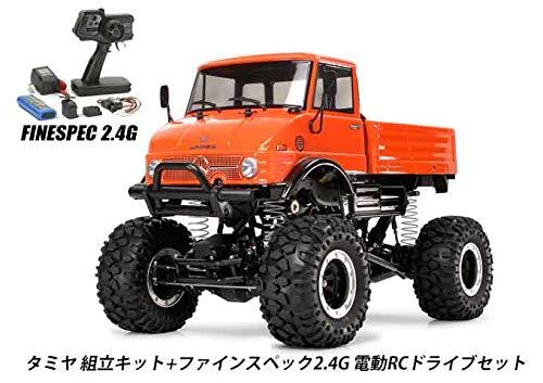 タミヤ RCC ベンツ ウニモグ406 組立キット+2.4G 電動ドライブセット 品番45053-58414 B07RG3XVVZ
