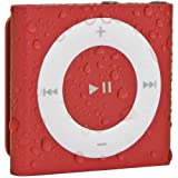 Waterfi 100% Waterproof iPod Shuffle with Dual Layer Waterproof/Shockproof Protection (Red), Best Gadgets