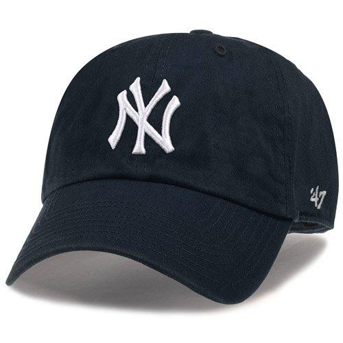47 Brand MLB カジュアルキャップ(CLEAN UP CAP クリーンナップ キャップ) ニューヨーク・ 66e7379fb46b