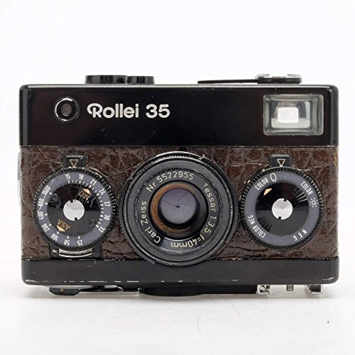 Rollei 35 Black/Brown Snake Skin Singapore - Films Singapore