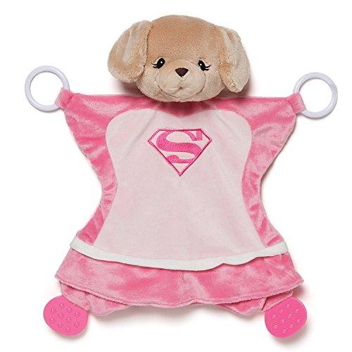 Gund Baby Dc Comics Yvette as Supergirl Activity Baby Blanket (Supergirl Dog Costume)