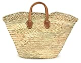 Moroccan Straw Shopper / Market Bag, 22