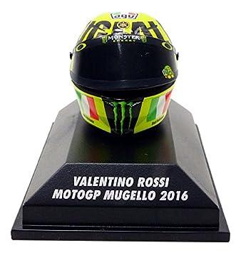 Minichamps Casco Moto Mugello GP 2016 V. Rossi AGV, 398160086, en miniatura (