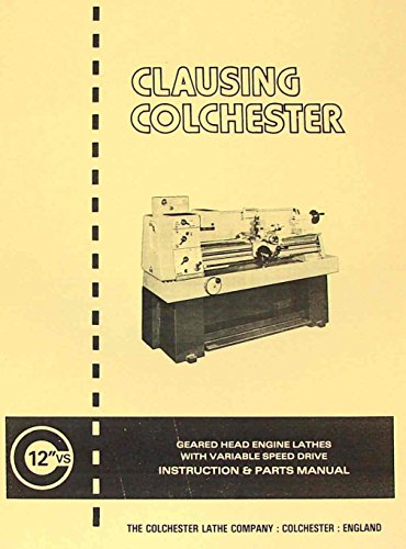 CLAUSING Colchester 600 VS 12