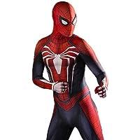 Super fantasia Traje de Cosplay de Spiderman PS4