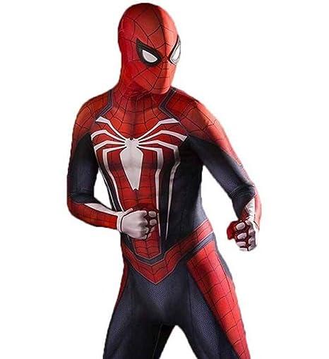 Amazon.com: APPSSS Spiderman Cosplay Costume PS4 Elastic ...