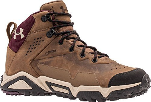 Bluff Leather (Under Armour Women's UA Tabor Ridge Leather Uniform/Ox Blood/Highland Bluff Boot)