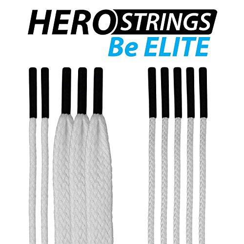 east-coast-dyes-1-pack-lacrosse-herostrings-pro-stringing-kit-white-hm-strings-wht-1p