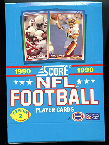 1990 Score Football Series 2 Two Set Wax Pack Box FACTORY SEALED ()