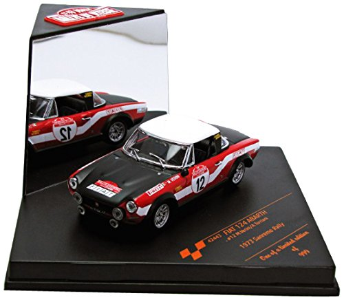 [Bitesu] (1/43) Fiat 124 Abarth rally 73 2nd Rally Sanremo # 12 M.Verini / A.Torriani (42443) ()