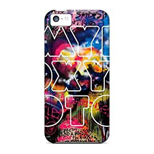 Iphone 5c Csj16578RtjQ Provide Private Custom High Resolution Coldplay Band Series Shock-Absorbing Hard Cell-phone Case -SherriFakhry