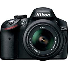 Versatile, accurate, fast and lightweight- the Nikon D3200 24.2 MP CMOS Digital SLR Camera has all of these attributes and more. Designed to offer the highest level of picture quality in the most compact and sleek design, the Nikon D3200 ble...