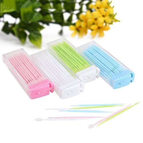 KANG--2way Oral Dental Tooth Pick Interdental Brush with Portable Case - Shopping In Or Eugene