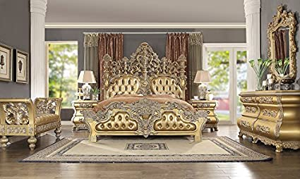 a27e98f9a1dd Image Unavailable. Image not available for. Color: Inland Empire Furniture  King Size Tenaya Formal Bedroom Set
