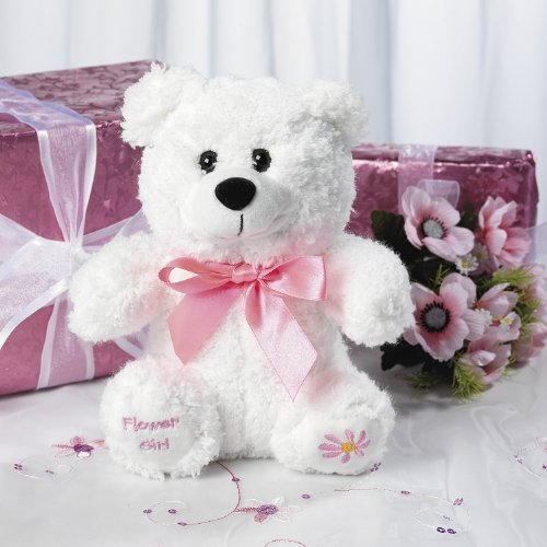 Plush Flower Girl Bear (Ring Bearer Bear)