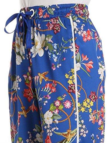 Pinko Pantaloni Donna 1G139J6858EZG Poliestere Blu