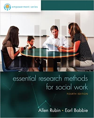 Empowerment series essential research methods for social work empowerment series essential research methods for social work 4th edition by allen rubin author earl r babbie fandeluxe Image collections