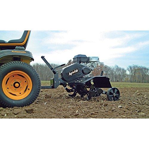 tiller attachment for riding lawn mower