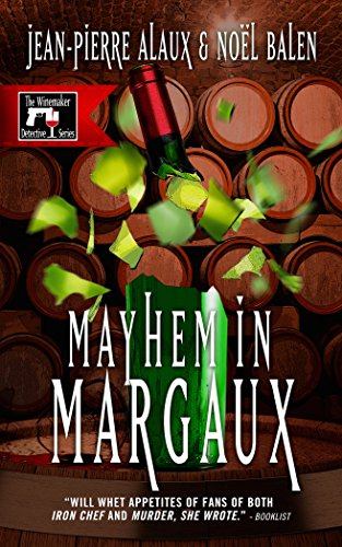 book cover of Mayhem in Margaux
