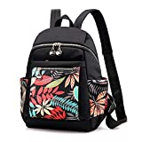Bthdhk Women Backpack Purse Waterproof Nylon Anti-Theft Rucksack Lightweight Schoolbags Casual Travel Bag