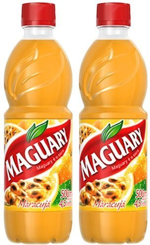Maguary Passion Fruit Juice Concentrate - 16.9 FL.Oz | Suco Concentrado de Maracujá Maguary - 500ml - (PACK OF 02) by ()