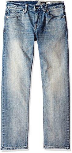Heavy Faded Solver Denim Pantaloni Worn Volcom qwFRztP