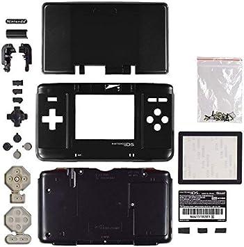 Carcasa de Repuesto para Consola Nintendo DS NDS Negro ...
