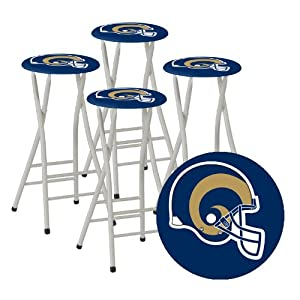 Amazon.com : Best of Times NFL Bar Stools, St. Louis Rams