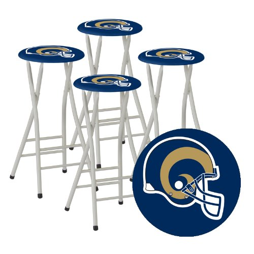 Best of Times NFL Bar Stools, St. Louis Rams, Set of 4
