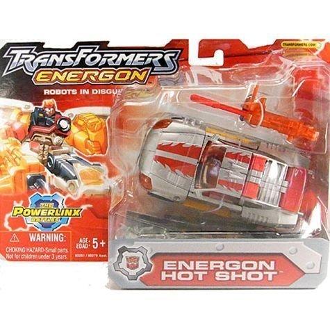 Transformers Energon Powerlinx ENERGON HOT SHOT - Hot Shot Energon