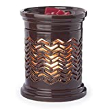 Candle Warmers Etc. Precision Cut Illumination Fragrance Warmer, Chevron