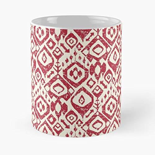 Indian Indonesian Ikat - Ceramic -
