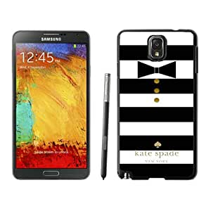 New Beautiful And Durable Designed Kate Spade Samsung Galaxy Note 3 N900A N900V N900P N900T Black Phone Case Cover 036