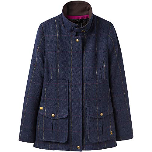 Wool Fieldcoat Tweed Blend Country Sports Coat Womens Joules E7wqPP