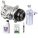 New Genuine OEM AC Compressor & Clutch + A/C Repair Kit For Chevy Cadillac GMC - BuyAutoParts 60-83330RN New