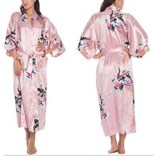 FEOYA - Albornoz - para mujer rosa