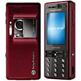 Sony Ericsson K810i Unlocked Cell Phone International Version with No Warranty (Pulse Red)