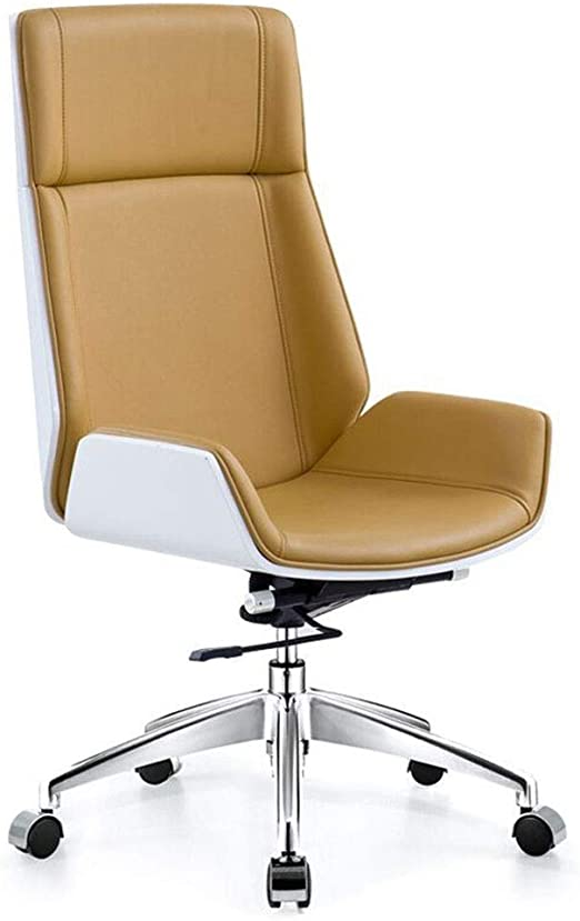Amazon Com Eahkgmh Ergonomic Office Chair Rotating Boss Executive Chair Simple Modern Lounge High Back Chair Computer Chair Swivel Desk Chair Women Men Adults Color C Kitchen Dining