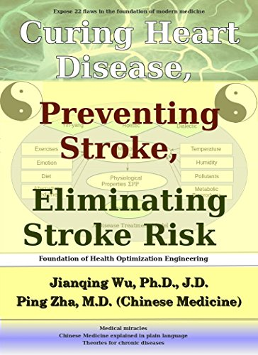 Curing Heart Disease, Preventing Stroke, and Eliminating Stroke Risk: With Foundation of Health Optimization Engineering by [Wu, Jianqing, Zha, Ping]