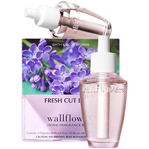 Bath and Body Works New Look! Fresh Cut Lilacs Wallflowers 2-Pack Refills