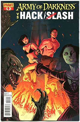 ARMY OF DARKNESS HACK SLASH #4 A, NM-, 2013, Horror, more AOD in -