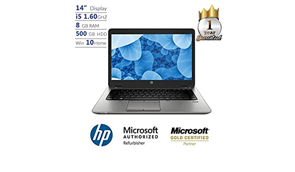 Amazon.com: HP ProBook 840 G1, Intel Core i5, 8GB, 500GB HD, 14 Full HD, Win 10 Laptop: Computers & Accessories