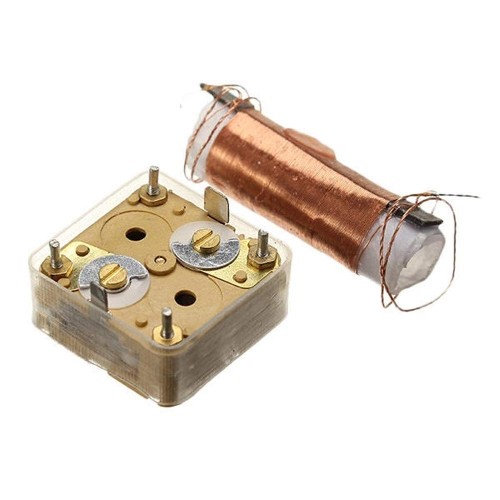 Quintion Child Herramienta de Bricolaje For la ense/ñanza y el Aprendizaje electr/ónicos DIY Kit de Radio Am FM port/átil 76-108MHZ 525-1605KHZ Adecuado Accesorios